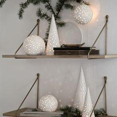 Nobili Tea Light Holder, Snow White - Candles & Candleholders - Home Decor