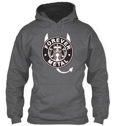 Forever Metal Dark Heather T-Shirt Front