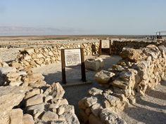 """""""Despensa"""". Sítio arqueológico de Qumran, Cisjordânia."""