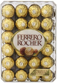 Ferrero Rocher, Hazlenut, 48 Count, 21.2oz * Tried it! Love it! Click the image. : Gift Baskets