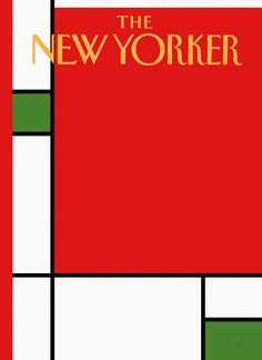 Minimalist Christmas by Bob Staake  (The New Yorker / December 22 + 29, 2008)