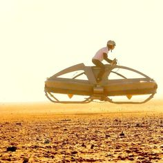 Hovercraft Bike by Aerofex, i want one