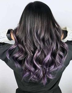 20 Amazing Dark Ombre Hair Color Ideas - All For New Hairstyles Dark Ombre Hair, Ombre Hair Color For Brunettes, Purple Grey Hair, Ombre Sombre, Best Ombre Hair, Brunette Color, Hair Color For Black Hair, Cool Hair Color, Ombre Color