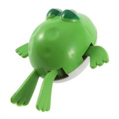 TOOGOO(R) Wind Up Frogman Diver Toy Cute Frogs Swimming Frog Party Favor Swim Kids Toys Wind Up Frogman Bath Diver Toy Swimming Frog Party Favor Swim Toys. Material: Plastic. Color: Green. Size: 6cm x 6cm x 2.5cm approx.. 1 x Swim Frog Toy.  #TOOGOO(R) #Toy