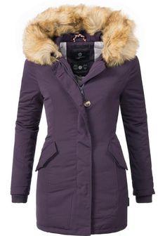 Details over Freshlions Blogger Fashion Winter Jacke extra XXL Kapuze Kunstfell Parka warm