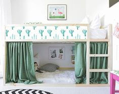 Super ideas for baby hacks nursery kura bed Ikea Loft, Ikea Kids, Cama Ikea Kura, Ikea Nursery, Nursery Decals, Big Girl Rooms, Boy Rooms, Girls Bedroom, Lego Bedroom