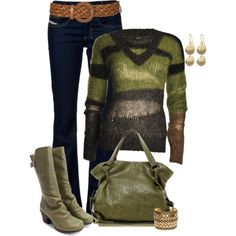 Fall Outfit. Love this sweater