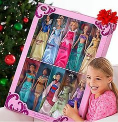 disney princess barbie dolls set