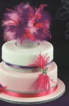 Google Image Result for http://www.rainbowsugarcraft.co.uk/shop/images/diamante-feather-cake.jpg