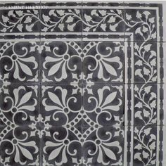 cuban heritage collection - cement tile - master bath