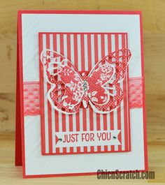 floral wings (new hostess set) card - video tutorial in the post
