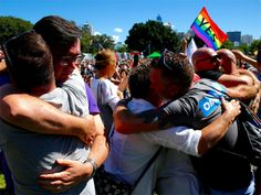 Rainbow celebrations as Australians vote for same-sex marriage - Economic Times #757Live
