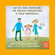 Dia das Crianças! Sinônimo de brinquedos, brinquedos e mais brinquedos!  E amor, carinho, atenção, cumplicidade, compreensão? Nós pais sabemos o quão essencial são para nossos filhos?  Vamos parar e refletir? Essa serviu para minha família também!  Beijinhos à todos!    #ficaadica #infância #filhos #amor #mamae #papai #diadascriancas #presentes #brinquedos