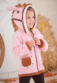 From CWDkids: Horse Hooded Jacket