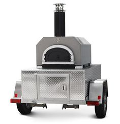 Chicago Brick Oven Mobile catering wood fired pizza oven