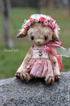 Solya - бледно-розовый,овечка,тедди,овечка тедди,тедди овечка,авторская ручная работа