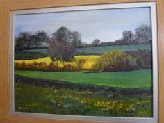 Spring on Brusselton Hill. oil