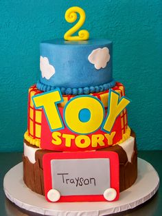Toy Store Cake Tutorial - step by step instructions for making this cake.