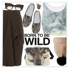 """""""Born to be wild"""" by teoecar ❤ liked on Polyvore featuring Joseph, E L L E R Y, Burberry and Dolce&Gabbana"""