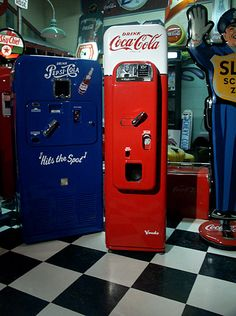 Vendo 44 Coca-cola machine