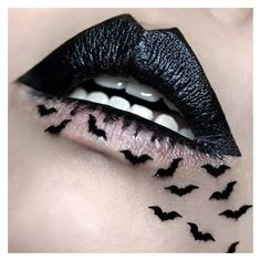 Black Lipstick ❤ liked on Polyvore featuring beauty products, makeup, lip makeup and lipstick