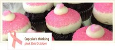 "From our October 2013 email announcing that year's limited edition pink ""cupcakes for the cure"" financially supporting the Susan G. Cupcake Flavors, Pink Cupcakes, Breast Cancer Survivor, October 2013, The Cure, Foundation, Menu, Desserts, Food"