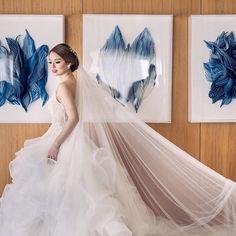 Jacqueline Uy wears Hannah Kong. The ruffled bottoms for this custom bridal wear add extra texture to the trail. #hannahkong #bridal #fashion #style #wedding #designer #hannahkongbride  #Regram via @www.instagram.com/p/Bw_eFwwjlOW/ Bridal Gowns, Wedding Gowns, Whimsical Fashion, French Lace, Bridal Fashion, One Shoulder Wedding Dress, Choices, Brides, Trail