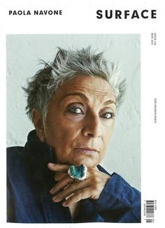Congrats to Paola Navone for landing a cover story in Surface Magazine! 3 4 Face, Advanced Style, Aged To Perfection, Ageless Beauty, Going Gray, Aging Gracefully, Grey Hair, Up Girl, Old Women