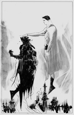 Batman v. Superman by Jae Lee