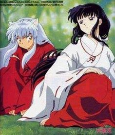 I still think they had one of the cutest love stories ever. Poor Inuyasha and Kikyo, Naraku ruined everything. Even though I like Kagome with Inuyasha better, I feel really bad for Kikyo.