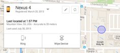 Google launched Android Device Manager: locating and deleting a lost phone | IT InfoBit - It News, How To, Tutorials