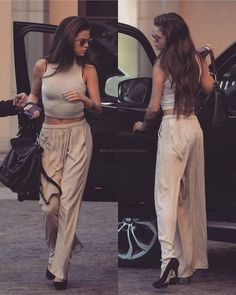 cute Selena Gomez outfits to inspire you!Selena Gomez Biography: American actress, singer, and producer Selena Marie Gomez is an inspiration for the youth of the country. Style Selena Gomez, Selena Gomez Outfits, Selena Gomez Clothes, Selena Gomez Long Hair, Selena Gomez Body, Selena Gomez Fashion, Selena Selena, Looks Chic, Looks Style