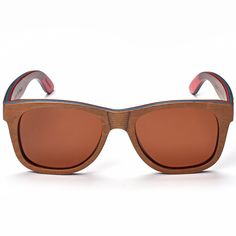 SKADINO Handmade Wood Sunglasses with Polarized Lenses for Men or Women in a Wayfarer-S1064 * Find out more about the great product at the image link. (This is an affiliate link) #BestTravelaccessoriesforwomen