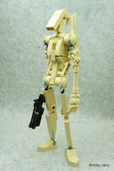 Battle Droid | Never a fan of this design in the movies, but this rendition is excellent.