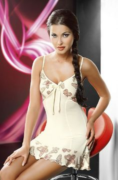 Irall Anais Nightdress Cream via Love Temptation. Click on the image to see more!