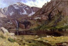 Bierstadt Albert Mountain Lake - A Storm in the Rocky Mountains, Mt. Rosalie - Wikipedia, the free encyclopedia