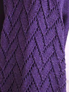 Free Pattern: Flemish Block Lace Shrug by Pamela Young