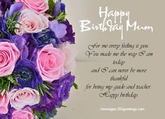 124 Best Happy Birthday Wishes For Mother Images
