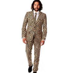 Men's The Jag Party Cheetah Costume Suit (leopard print suit)