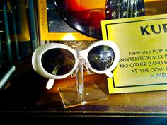 Kurt Cobain's glasses #Nirvana
