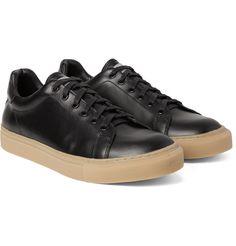 official photos 4a478 4cbcf M. Porter, Mode Homme, Chaussures De Basket En Cuir, Chaussures