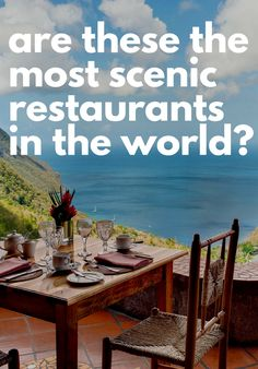 10 spots where next-level scenery makes the meal. Beautiful Places To Travel, Cool Places To Visit, Vacation Places, Dream Vacations, Travel Checklist, Travel Guide, Future Travel, Travel Aesthetic, California Travel