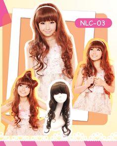 Girls Generation Curly Long Full Wig - EyeCandy's #wig #ulzzang #koreanfashion #asianfashion #kstyle #kpop #hairpiece #adorable #cute #lovely #pretty #kawaii