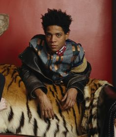 the great Basquiat tiger skin and all :)