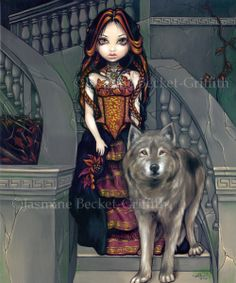 Wolf Countess- Jasmine Becket-Griffith