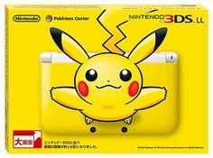 Nintendo lança edição especial do 3DS XL com Pikachu