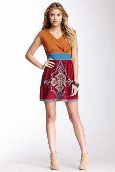 0f0843ed42 Flying Tomato Sleeveless Embroidered Dress on HauteLook