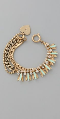 Juicy Couture Enamel Petal Bracelet
