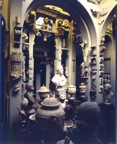 Sir John Soane's Museum, London - one of the most interesting and unusual art museums I've ever visited.  Not for the claustrophobic!