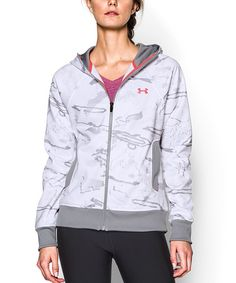 Love this Under Armour® Ride Reaper® SnowCamo Full-Zip Hoodie by Under Armour® on #zulily! #zulilyfinds